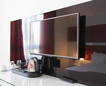 ホテル客室TVデザイン